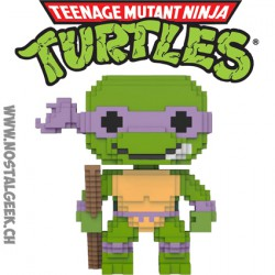 Funko Pop Teenage Mutant Ninja Turtles 8-bit Donatello