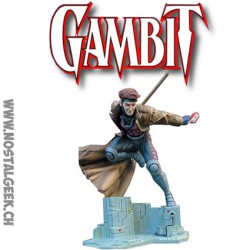 "Marvel Modern Era X-Men Gambit 8"" Statue sculpted by Jeff Feligno"