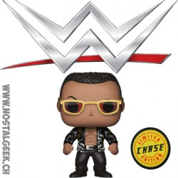 Funko Pop WWE The Rock Chase Edition Limitée