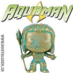 Funko Pop Heroes Batman vs Superman Aquaman Copper Patina Exclusive Vinyl Figure