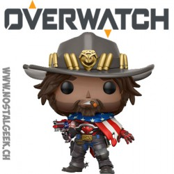 Funko Pop Overwatch USA McCree Exclusive Vinyl Figure