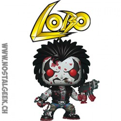 Funko Pop DC Bloody Lobo Exclusive Vinyl Figure
