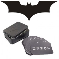 Batman Metal Box Cartes à jouer