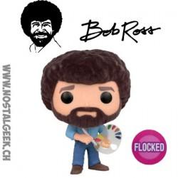 Funko Pop TV Bob Ross Flocked Exclusive Vinyl Figure