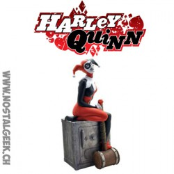 DC Comics Harley Quinn Money Bank Plastoy