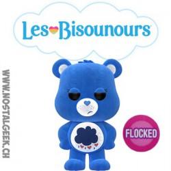 Funko Pop Animation Care Bear (Bisounours) Grumpy Bear (Grognours) Flocked Edition Limitée