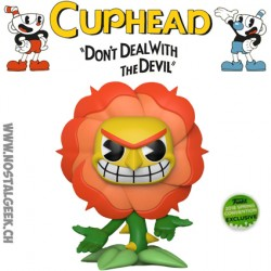 Funko Pop Games ECC 2018 Cuphead Cagney Carnation Edition Limitée