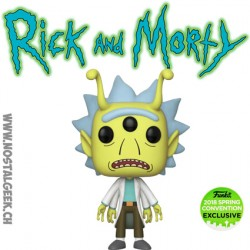 Funko Pop ECC 2018 Rick et Morty - Alien Rick Edition Limitée