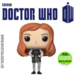 Funko Pop ECC 2018 TV Doctor Who Amy Pond Edition Limitée