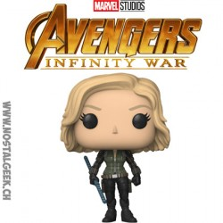 Funko Pop Marvel Avengers Infinity War Black Widow Vinyl Figure