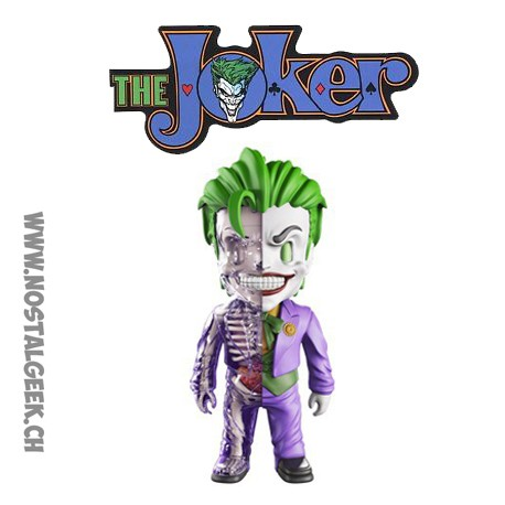 25 cm DC Comics 4D Joker XXRay Model Kit By Jason Freeny