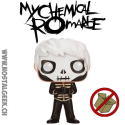 Funko Pop Rocks My Chemical Romance Skeleton Gerard Way (Black Parade) Exclusive Vinyl Figure