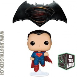 Funko Pop DC Batman vs Superman - Superman (Vaulted) Vinyl Figure