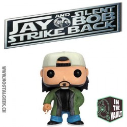 Funko Pop! Movie Jay and Silent Bob Strike Back Silent Bob (Vaulted) Vinyl Figure