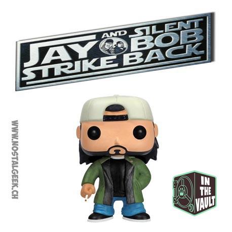 Funko Pop! Movie Jay and Silent Bob Strike Back Silent Bob (Vaulted) Vinyl Figure