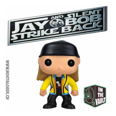 Funko Pop! Movie Jay and Silent Bob Strike Back Jay (Vaulted) Vinyl Figure