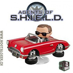 Marvel Pop Rides Agents Of SHIELD Agent Coulson et Lola (Vaulted)