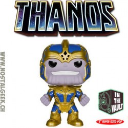 Funko Pop Vinyl: Guardians Of The Galaxy Thanos the Mad Titan (Vaulted) Damaged box