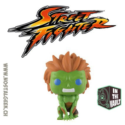 Toy Funko PopVideo Game Street Fighter Blanka (Vaulted