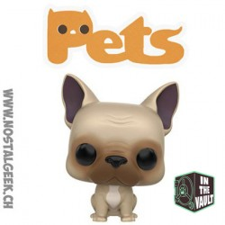 Funko Pop Animaux (Pets) Dogs French Bulldog Vinyl Figure