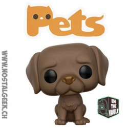 Funko Pop Animaux (Pets) Dogs Labrador Retriever Chocolat