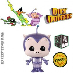 Funko Pop Cartoons Duck Dodgers Space Cadet (Metallic) Chase Edition Limité