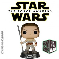 Funko Pop Star Wars Episode VII - The Force Awakens Rey Vinyl Figure