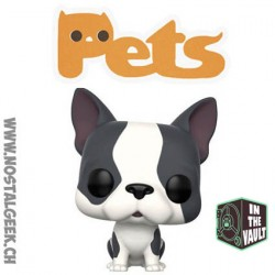 Funko Pop Animaux (Pets) Dogs Grey French Bulldog Vinyl Figure