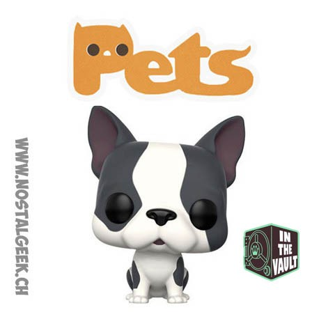 Toy Funko Pop Animaux (Pets) Dogs Gray and White French Bulldog (Va