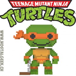 Funko Pop Teenage Mutant Ninja Turtles 8-bit Leonardo Vinyl Figure
