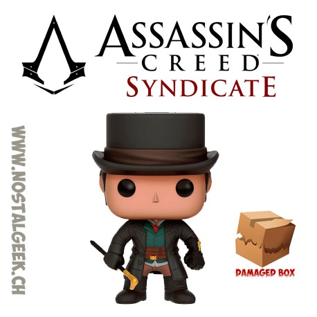 Funko Pop Jeux Vidéo Assassins Creed Jacob Frye Uncloaked Vinyl Figure