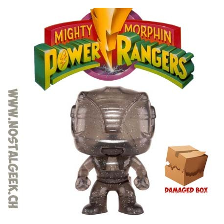 Funko Pop TV Power Rangers Black Ranger Morphing Edition Limitée