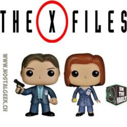 Bundle Funko Pop The X-Files Fox Mulder (Vaulted) & Dana Scully (Vaulted) Vinyl Figures